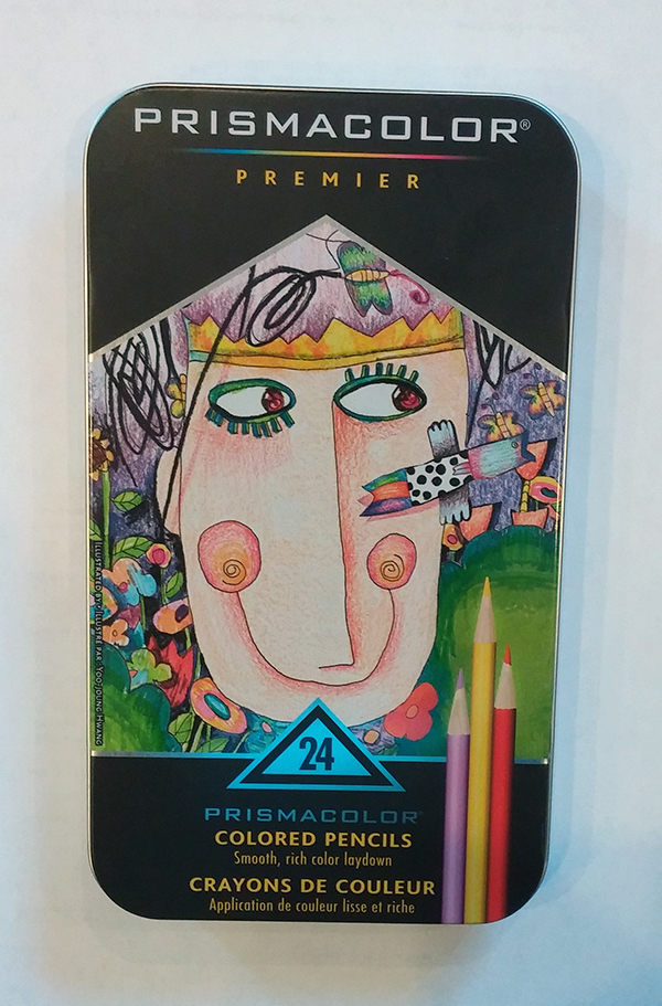 Prismacolors Pencil Tin